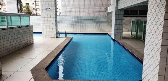 Apartamento Em Vila Guilhermina, Praia Grande/sp De 125m² 3 Quartos À Venda Por R$ 575.000,00 - Ap168985