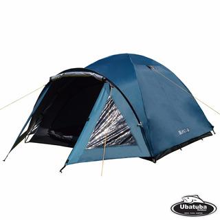 Carpa Waterdog Bravo 5 Personas 240x410x140cm Camping