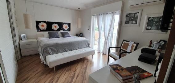 Sobrado Com 348 M² De Área Construída, 4 Suítes, 5 Vagas, Lazer À Venda R$ 1.950.000 - Jardim - Santo André/sp - So0391