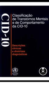 Cid-10 -classificação De Transtornos Mentais De Comportament