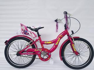 Bicicleta Infantil Niña - Mao Lola Rodado 20