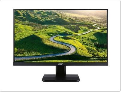 Monitor 27 Wide Fhd D-sub/dvi/hdmi Vesa Preto Va270h+spk Ac
