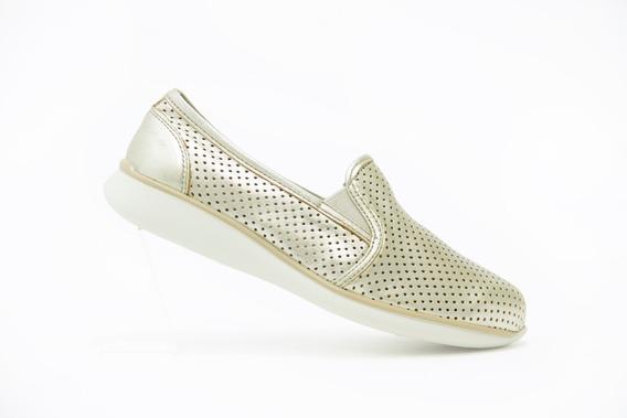 Flexi Dama Zapatos Modernos 28202 Oro 100% Originales!!