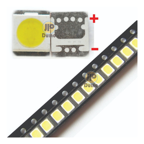 300x Led 2835 3v 1w Lg Innotek Tv Backlight 3528 300 Peças