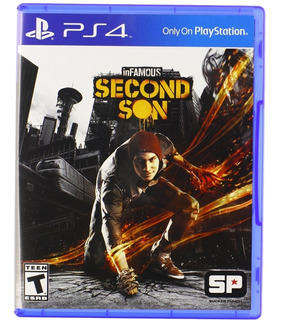 Infamous: Second Son Ps4 Fisico Nuevo Xstation