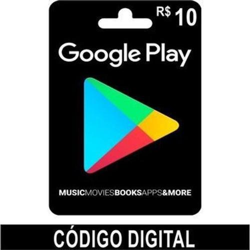 Imagem 1 de 1 de Cartão Google Play R$30,00 Envio Feito Por E-mail Pós Compra