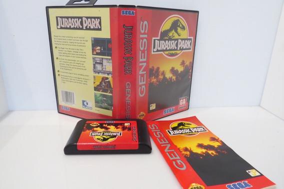 Jurassic Park Cib Completo Original Sega Mega Drive Genesis