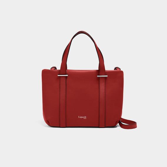 Bolsa By The Seine Nano Tote Bag Casual Lipault Cherry Red