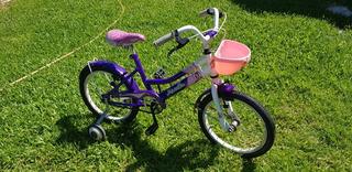 Bicicleta Musetta Rodado 16 Con Ruedas Originales