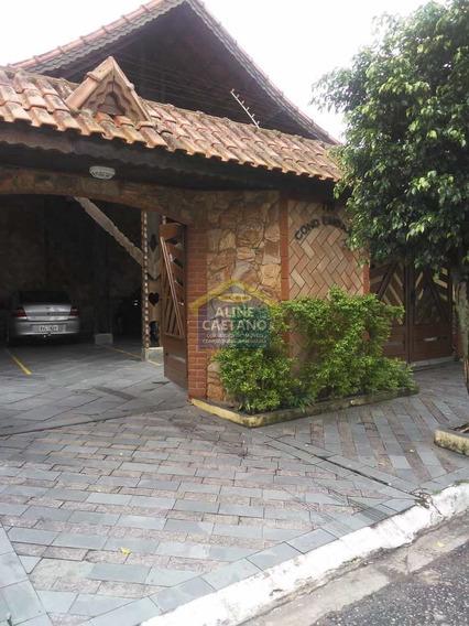 Casa De Condomínio Com 1 Dorm, Aviação, Praia Grande - R$ 212 Mil, Cod: Ac570 - Vac570