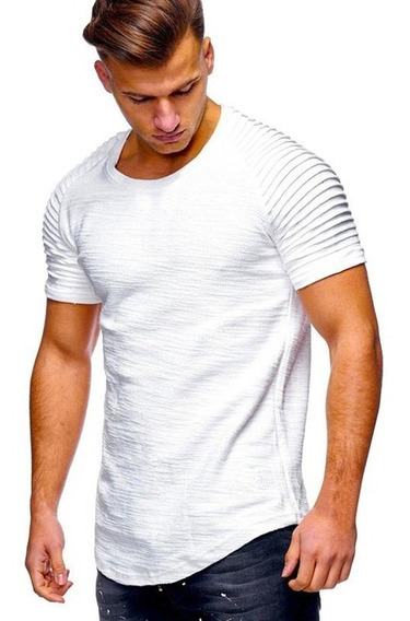 Pack X 3 Remeras Entalladas Slim Fit Hombre A14