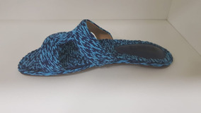 Sandalia Bordado Sailfish-schutz - Rasteira Slide Bordada