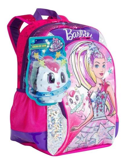 Mochila Grande Barbie Aventura Nas Estrelas Costas Sestini