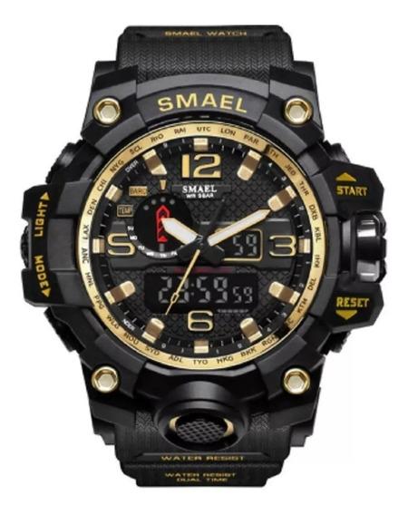 Relógio Militar Smael 1545 Mudmaster