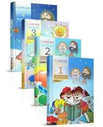 Imagem 1 de 5 de Combo O Livro Dos Espíritos Para Crianças - Volume 1,2,3,4