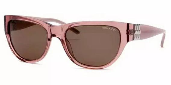 Óculos De Sol Nina Ricci 3237 Acetato Rosa Feminino