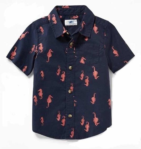 Camisa Para Niño Talla 12-18 Meses Importada