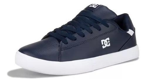 Tenis Dc Hombre Azul Notch Sn Mx Adys100500nwh