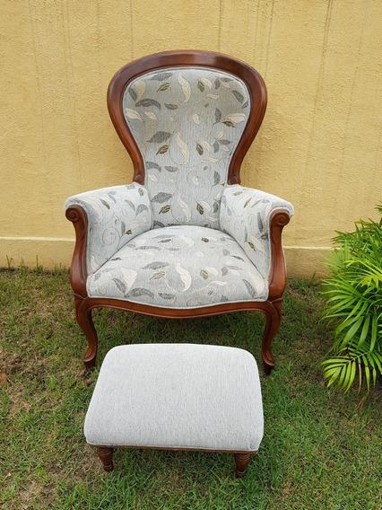 Cadeira Poltrona Vitoriana