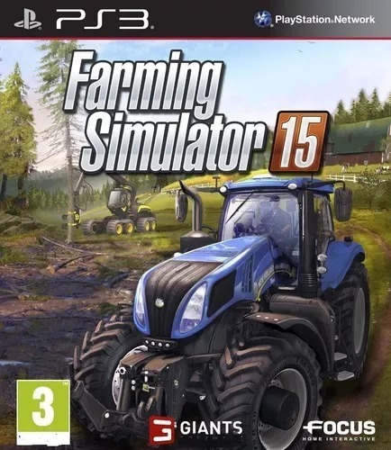 Farming Simulator 15 Ps3 Mídia Digital 400 Mb