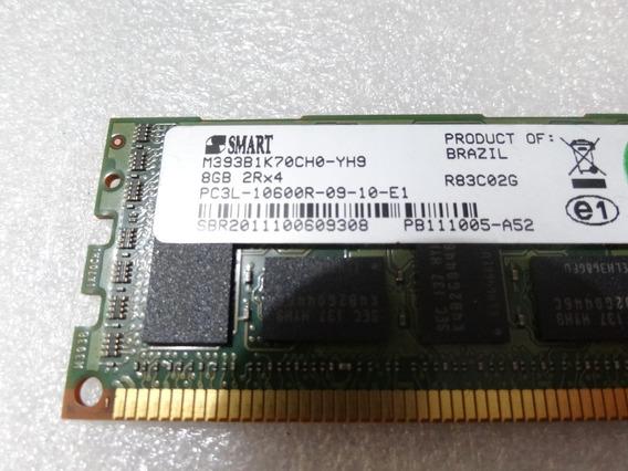 Memória 8gb Pc3l 10600r Ddr3 Hp Dl380 Dl360 Dl180 Ml350