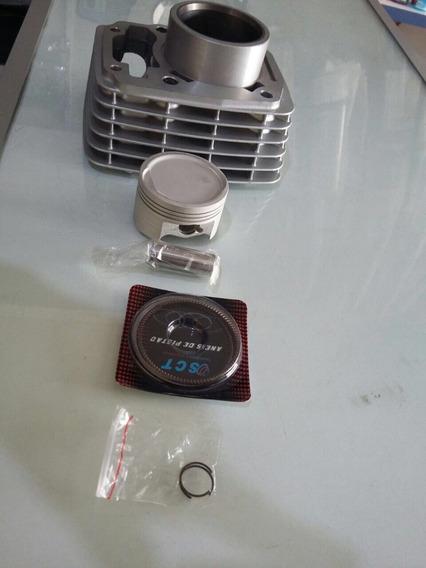 Kit Cilindro/piston/anéis Std Titan/bros/fan 150 Sct 001113