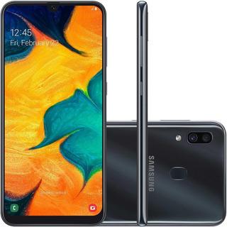 Smartphone Samsung Galaxy A30, 64gb, 16mp, Tela 6.4 - Preto