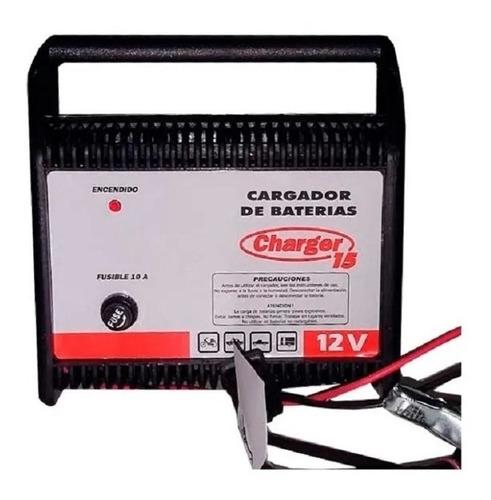 Cargador Baterías P/ Auto Charger 15 12 Volts 15 Amp. Cuotas