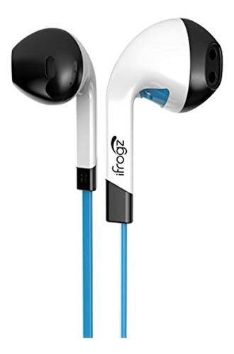 Auriculares Ifrogz Audio Intone Con Microfono Azul