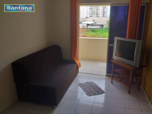 Apartamento Com 1 Dormitório À Venda, 42 M² Por R$ 120.000,00 - Centro - Caldas Novas/go - Ap0783