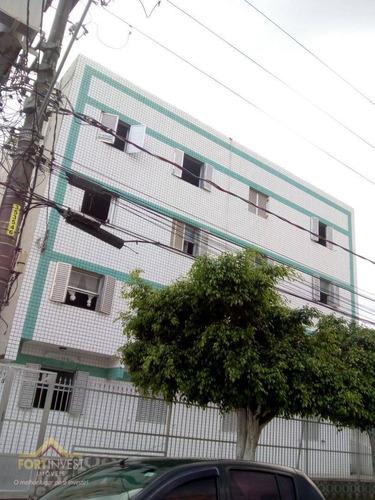 Imagem 1 de 9 de Apartamento Com 2 Dormitórios À Venda, 57 M² Por R$ 155.000,00 - Ocian - Praia Grande/sp - Ap2467