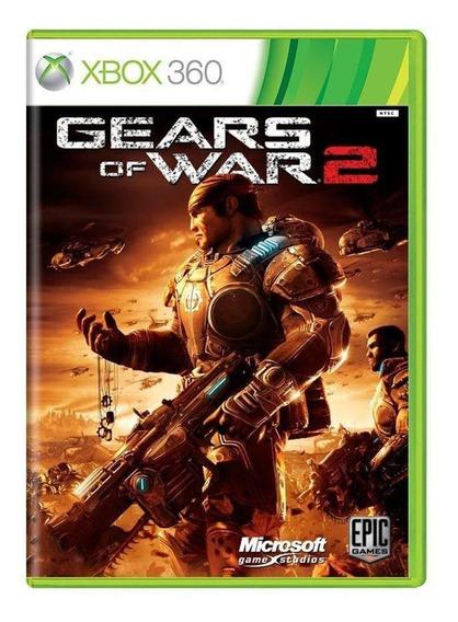 Gears Of War 2 Xbox 360 Lacrado Mídia Física Pronta Entrega