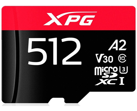 Memoria Micro Sdxc 512gb Xpg A2 Gamer V30 Nintendo Switch 4k