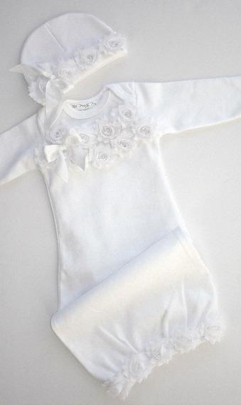 Cocolisos Para Bebes Niñas Con Encajes Excelente Calidad