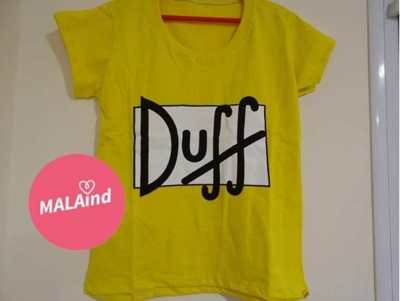 Remera Duff