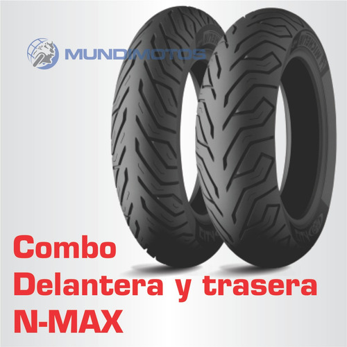 Combo Michelin 110/70-13 Y 130/70-13 City Grip Para N-max