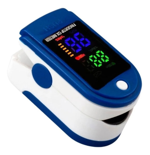 Imagen 1 de 4 de Oximetro De Pulso Medico Saturometro Medición Oxigeno