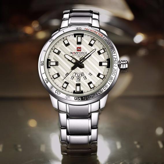 Relógio Masculino Naviforce 9090 Original+frete Gratis