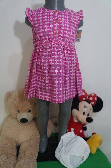 Vestido Con Calzonera Niña Carters 88851045 Imp Envio Gratis