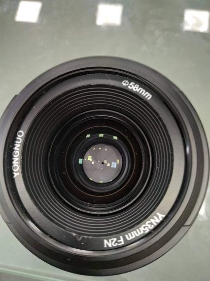 Lente Yongnuo Grande Angular Para Nikon D5200