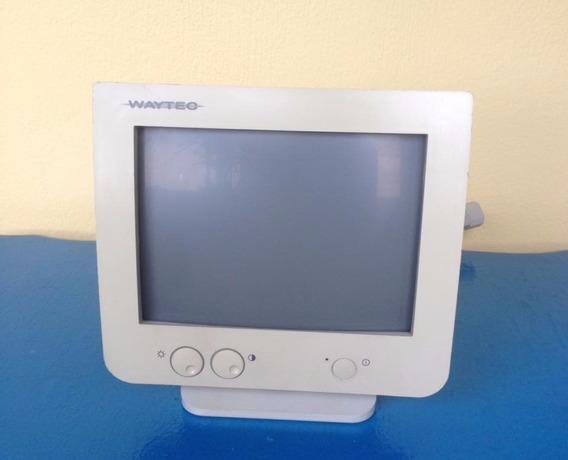 Monitor 9 Polegadas, Vga, Mono, Waytec...