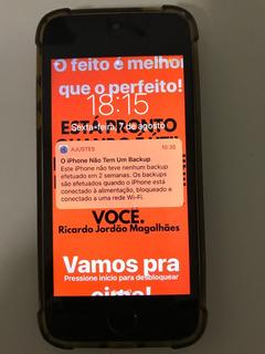 iPhone SE 32 Gb Cinza Espacial (intacto Com Bônus Incluso)
