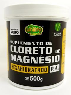 Cloreto De Magnesio P.a Hexahidratado 500mg Unilife