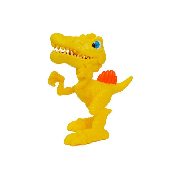 Junior Megasaur Mini Dino Comilão Amarelo - Fun 8144-1