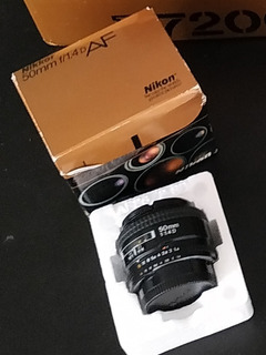 Lente Nikon 50mm F1.4
