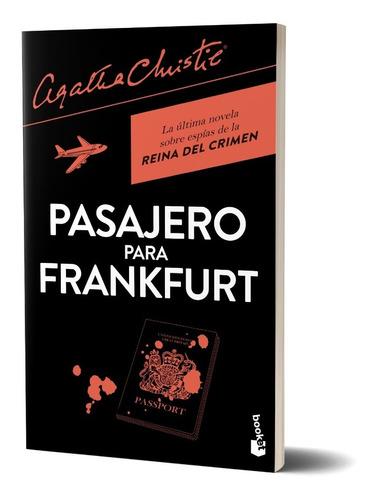 Imagen 1 de 4 de Pasajero Para Frankfurt  De Agatha Christie - Booket