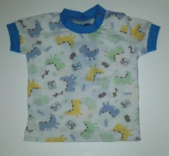 Camiseta Para Bebê Menino Estampada
