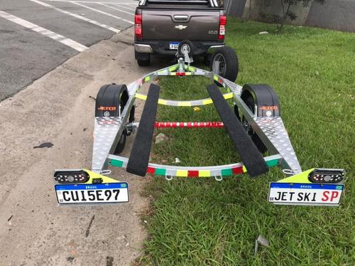 Carretinha Korg Jet Ski Galvonizada C/rodinha*step +sup 2021