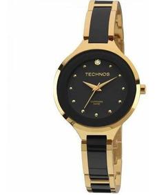 Relógio Technos Feminino Ceramic 2035lyw/4p Original Barato