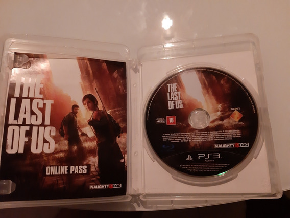 The Last Of Us Ps3 Midia Fisica